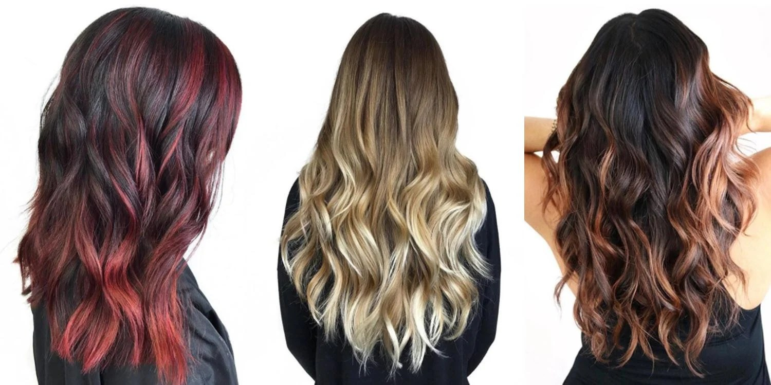 Dark Brown Light Brown Ombre Hair Extensions