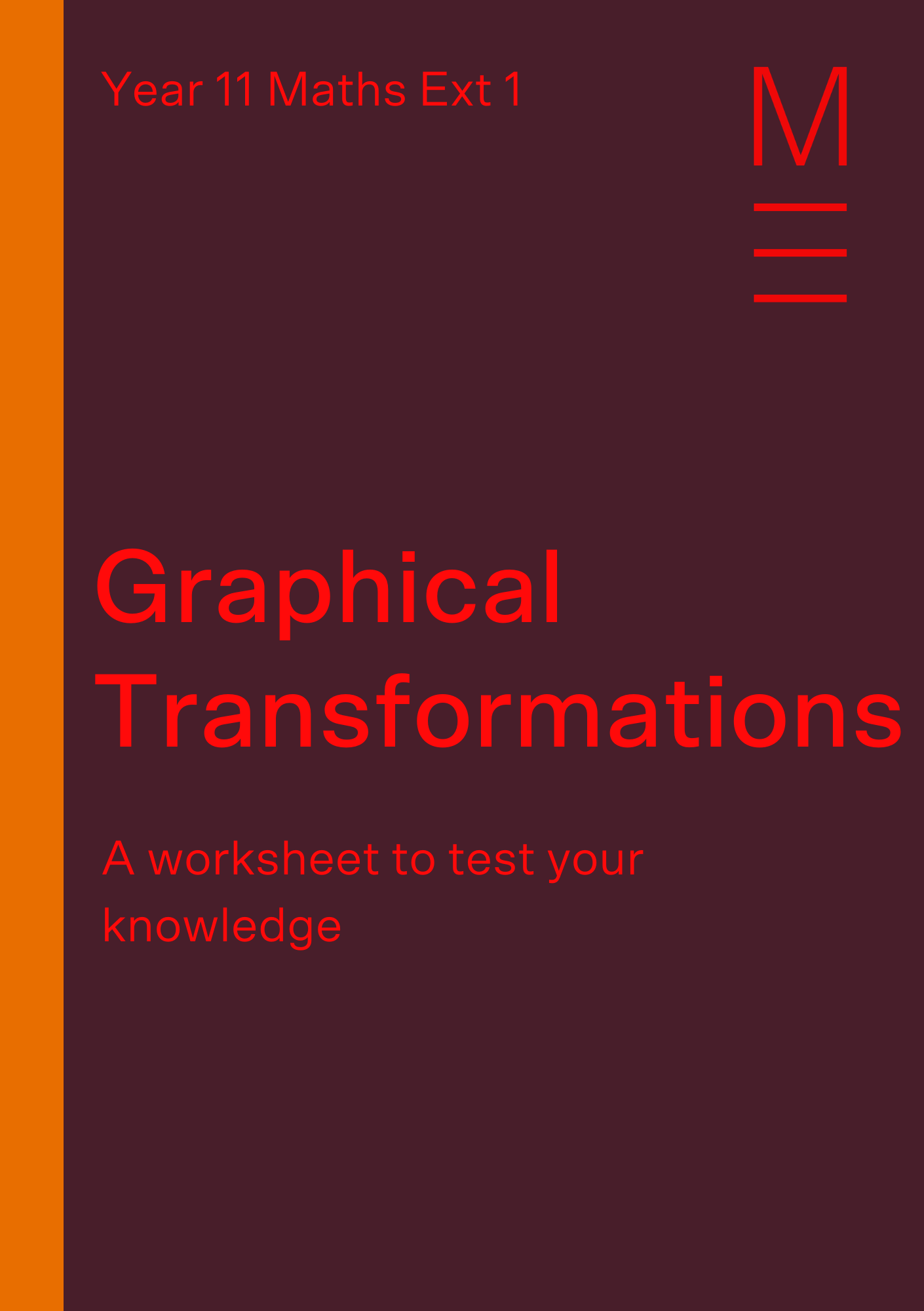 Part 4 Graphical Transformations