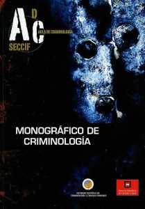Curso monografico de criminologia