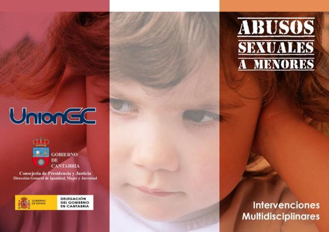 Abusos sexuales a menores, intervenciones multidisciplinares