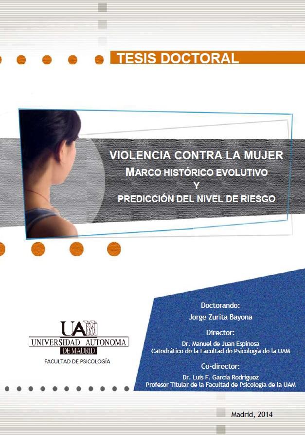 Tesis Doctoral de D. Jorge Zurita Bayona