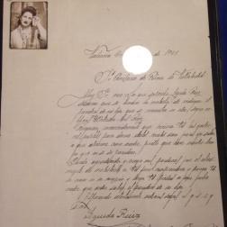 Denuncia por desaparicion de unpa persona (año 1945)