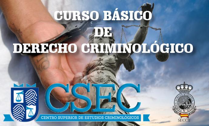 Curso de derecho criminológico
