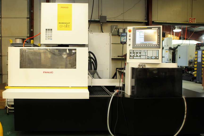 2  Fanuc Alpha Series Wire Edm Machines