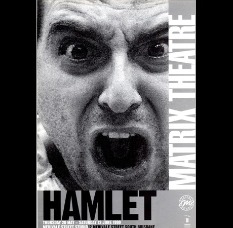 Poster for Hamlet by Matrix Theatre