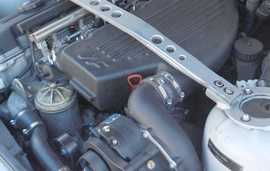 BMW MRoadster with VF-Engineering supercharger