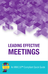 Leading Effective Meetings Quick Guide