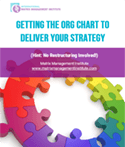 Getting the Org Chart to Deliver Your Strategy White Paper