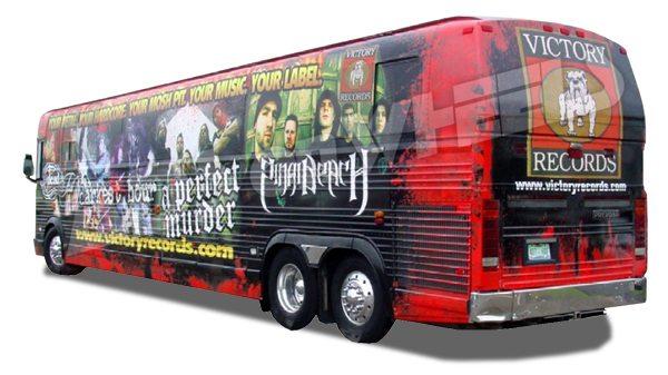 Tour Bus Advertising