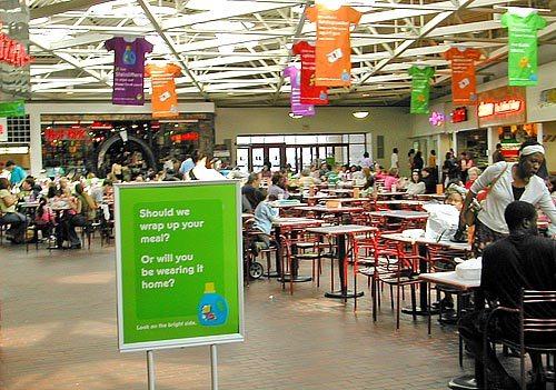 Food Court Advertising