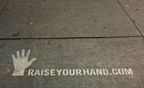 power wash sidewalk advertising