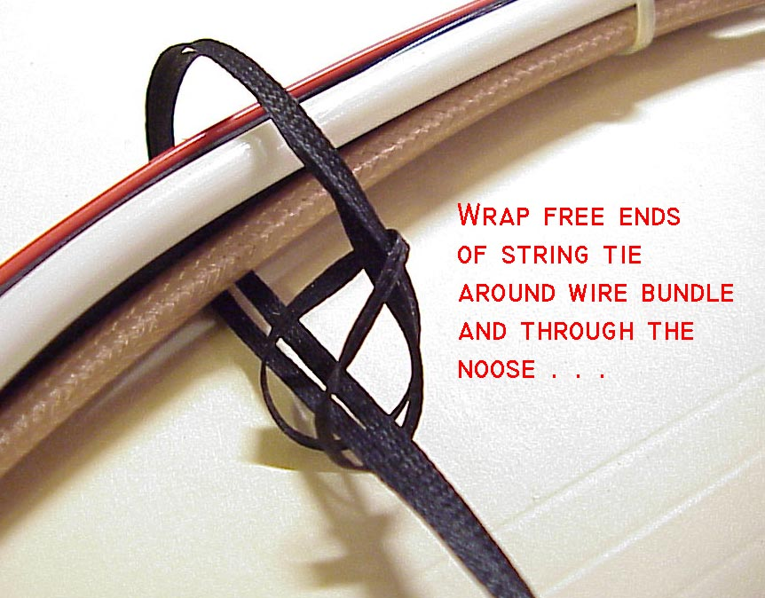 wiring harness string techniques