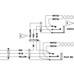 Rj45 Socket Wiring Diagram Honda Gcv160 Engine Parts Aeroelectric Connection - Aircraft Microphone Jack