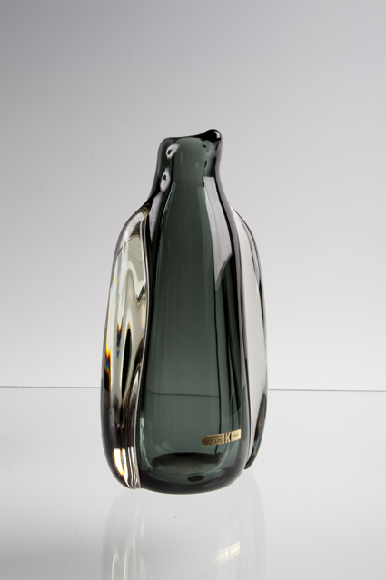 Willy Johansson. Vase. Kunstglass. Utført ved Hadeland Glassverk. 1957. (Foto: Mats Linder)