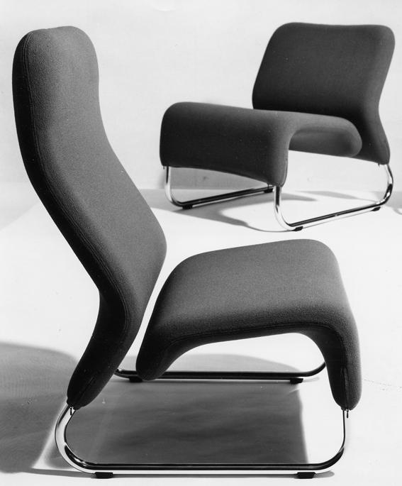 Møre Designteam. Modell: Ecco. Produsert av L.K. Hjelle. Tegnet i 1970. I produksjon fra 1971.
