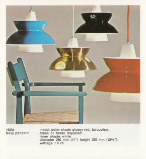 Louis Poulsens reklame for Sjøværnpendelen.