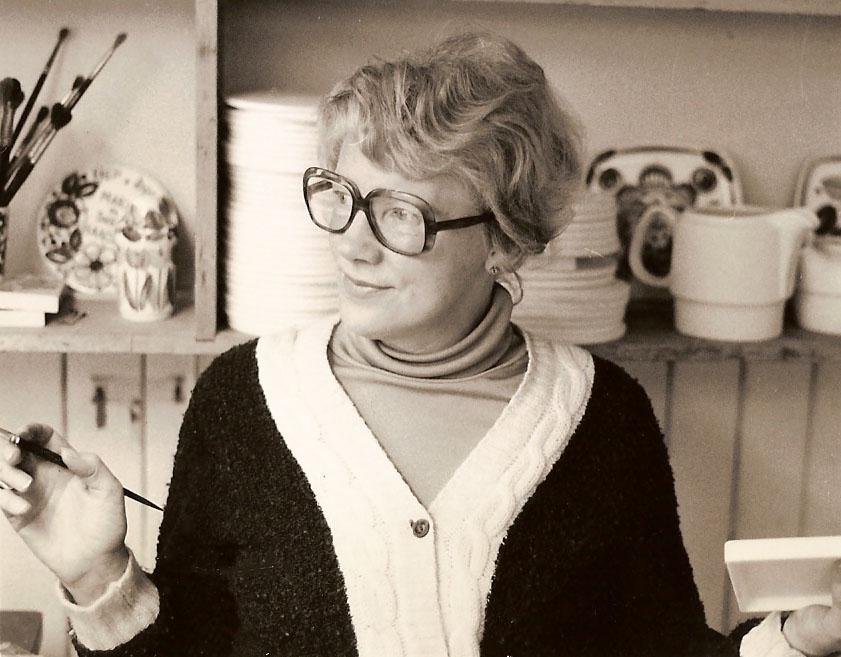 Inger Waage (Foto: Stavangerflint ved Figgjo Museum)