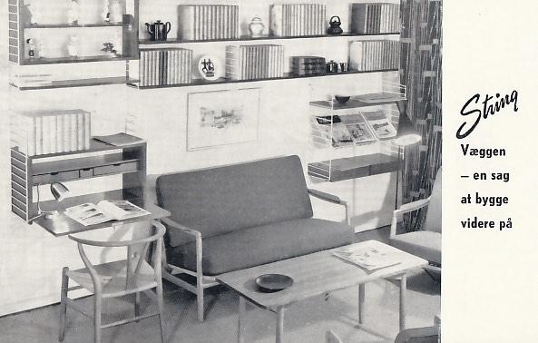Dansk String-reklame fra 1955.
