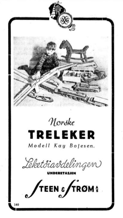 Reklame fra Aftenposten 14. desember 1939.