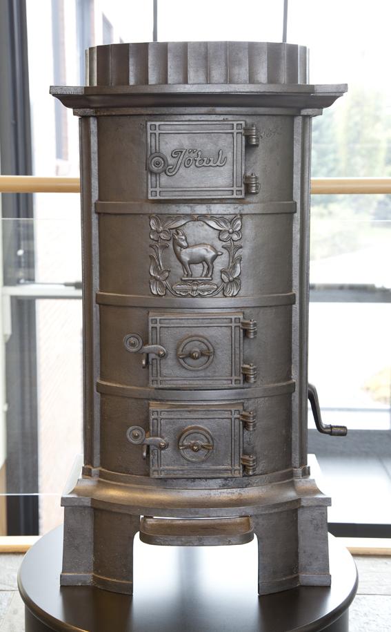 Jacob Christie Kielland. Magasinovn. Modell: 340. Produsert av Kværner Ovnstøperi. Ca. 1924. (Foto: Mats Linder)