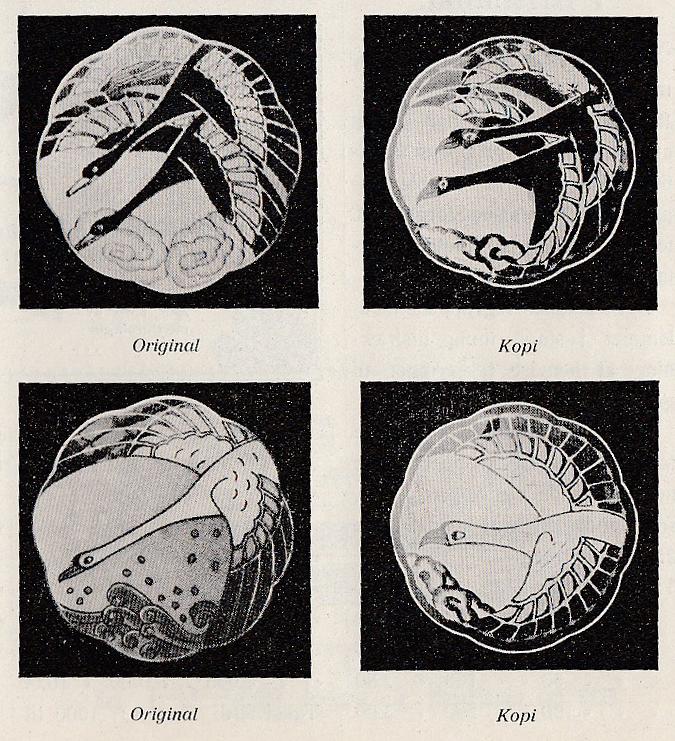 Innlegg skrevet av Anna Gaudernack i Norsk Tidsskrift for Guldsmedkunst, nr. 9/1919.
