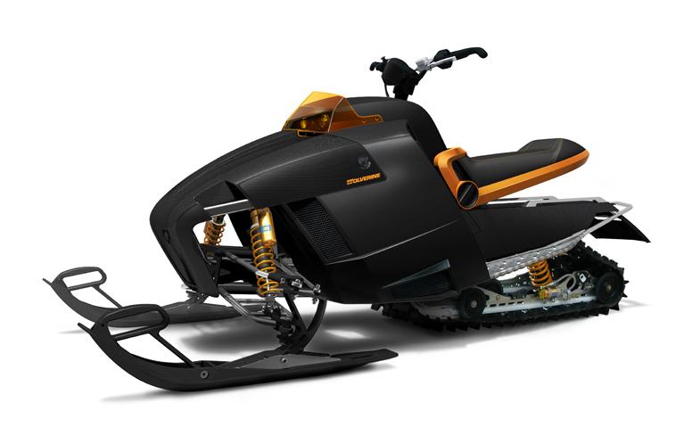 Hareide Design og Gesab Engineering. Modell: SnoWolverine. Produsert av SnoWolverine. I produksjon fra ca. 2007.