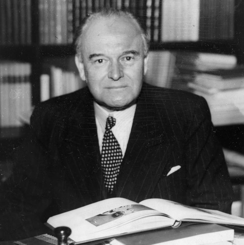 Harry Fett var en av landets viktigste kulturpersonligheter. (Foto: ukjent fotograf / Oslo Museum)