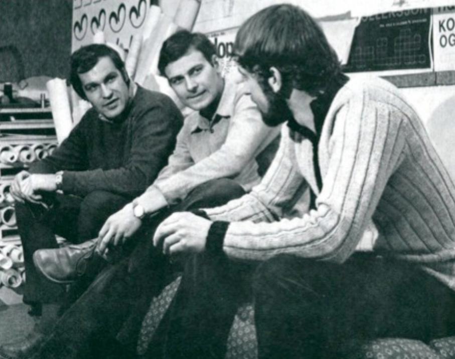 Møre Designteam. Fra venstre til høyre: Svein Leirdal, Jan Lade og Svein Asbjørnsen.