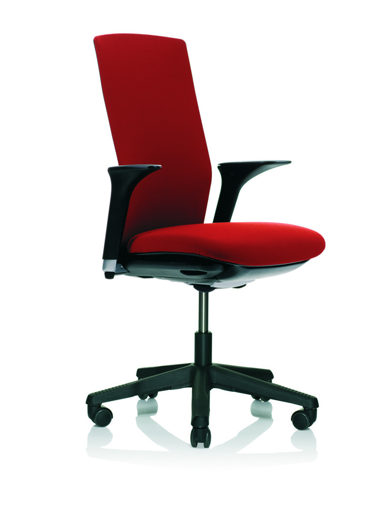 Fabric: FutuKnit 001 PŒl Laukli, 2008 Aluminium footbase, standard armrests