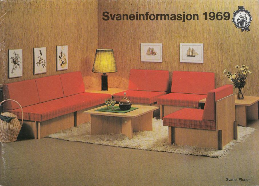 Oppdatert EKORNES SVANE – REKLAME FRA 1969 – Mats Linder AQ-01