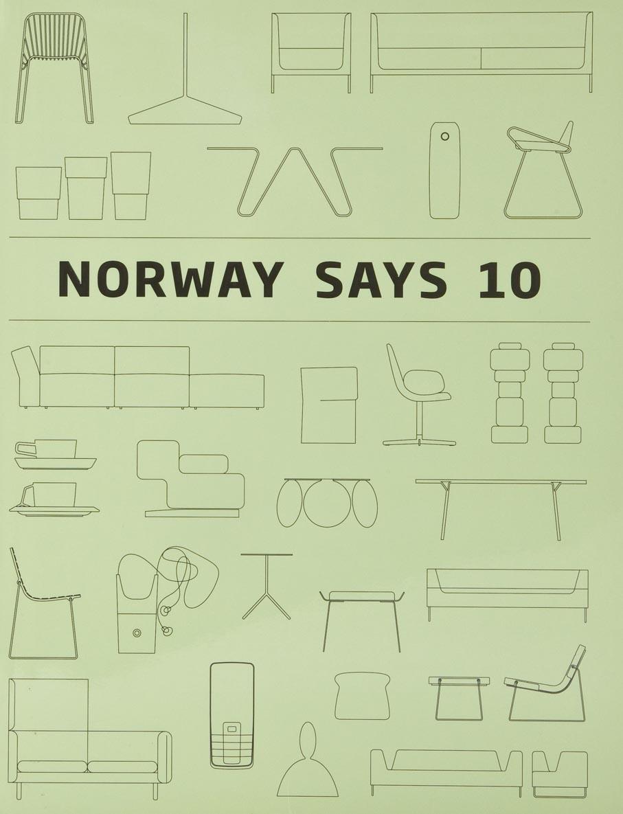 Widar Halén og Marianne Yvenes (red.). Norway Says 10. Nasjonalmuseet for kunst, arkitektur og design. Oslo, 2009.