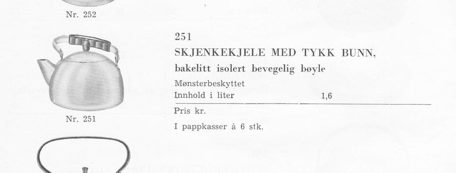 Il-O-Van produktkatalog fra 1957. (Jan Erik Olsen/Moss By- og Industrimuseum)