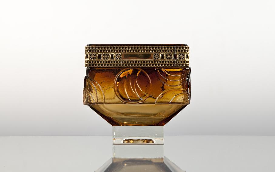 Pentti Sarpaneva. Vase. Utført ved Kumela, Finland. H. 14. Kr. 98. (Zoé Gjenbruk - Fredrikstad)