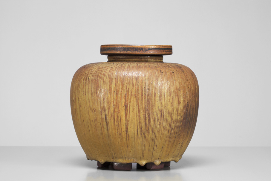 Wilhelm Kåge. Vase. Farstagods. Utført ved Gustavsberg. (Foto: www.jacksons.se)