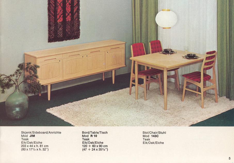 GUSTAV BAHUS – PRODUKTKATALOG FRA TIDLIG 1960 TALLET – Mats
