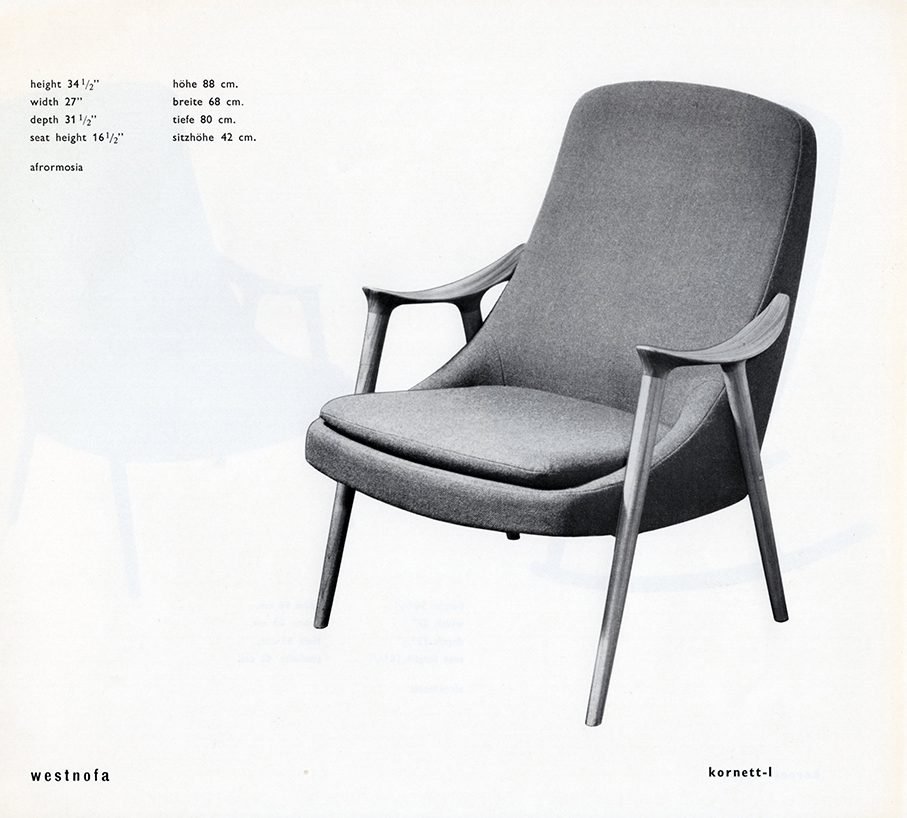 WESTNOFA – REKLAME FRA 1960 TALLET – Mats Linder