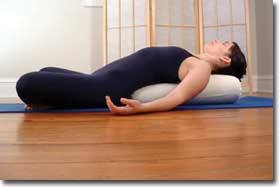 Yoga Bolster  Round or Rectangle