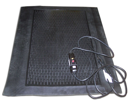 heavy duty office chair mat for carpet zero gravity lounge costco heated melting snow and ice