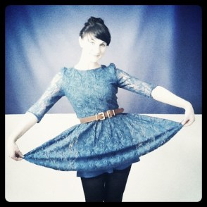 Mat Smith Photography - Dublin Topshop - Instagram Girl with Blue Dress