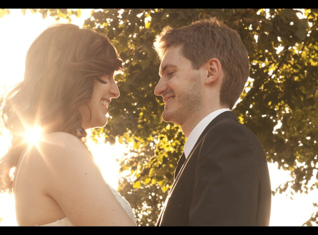 Regent's Park Autumn Wedding - Sun Peek - Mat Smith Photography