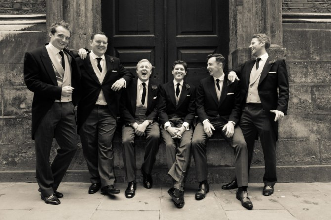 Ushers at St Mary Le Bow - Mat Smith Photography