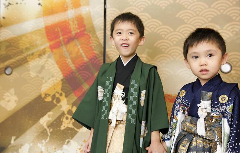 【スタジオParfait】5歳3歳ご兄弟☆記念撮影
