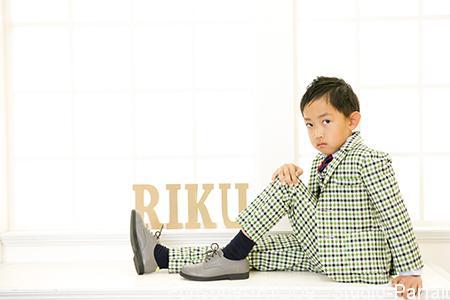 【スタジオParfait】5歳男の子☆記念撮影