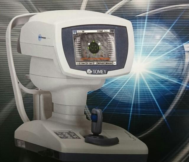 眼の長さの測定器(光干渉) - 検査・手術機器 - 松原眼科クリニック