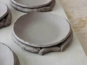 小皿乾燥中