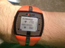 Uhh. My average heart rate was my max. Guess I have a strong ticker.