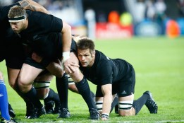 Rugby World Cup group game from Pool C between New Zealand and Namibia at Olympic Stadium. (c) Matt Bristow