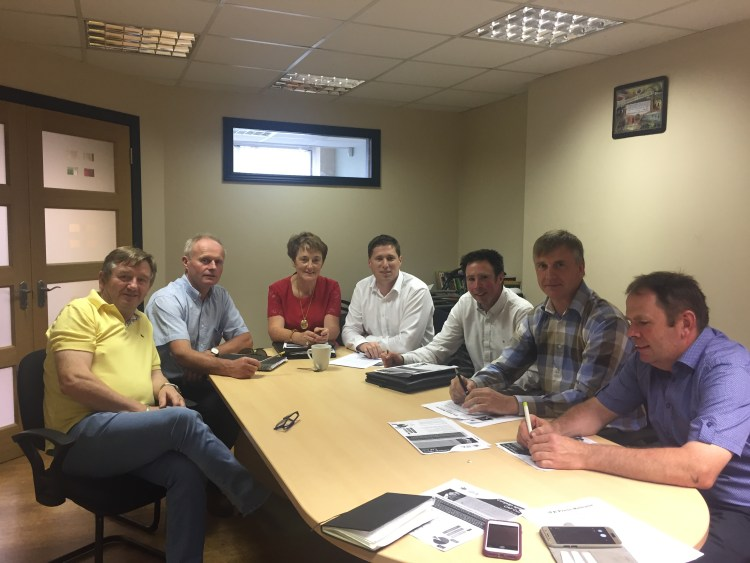 Matt Carthy MEP meeting Monaghan IFA