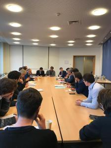 Matt Carthy MEP hosted a forum on regulating vulture funds and protecting mortgage holders in the European Parliament, Brussels this week.