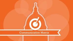 communication matrix